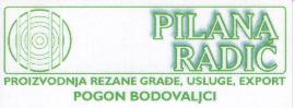 Pilana Radić d.o.o. Hardwood sawmills