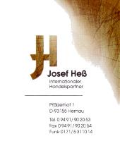 Josef Heß Internationaler Handelspartner Importers - distributors - merchants - stockists