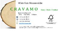 Cravamo Hout Bvba Logo