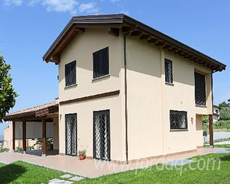 Forest legnami srl produttori case in legno chalets for Produttori case in legno italia