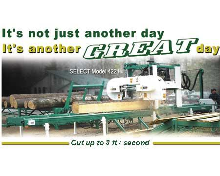 SELECT Sawmill Co. - Woodworking machinery manufacturers