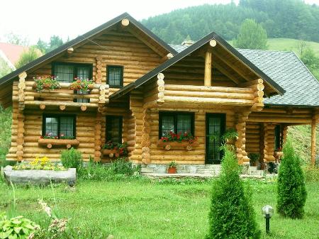 Rachita srl produttori di case in legno for Case legno romania