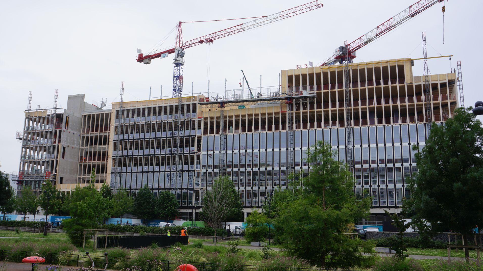 Pulse : 6000 m3 de bois pour des bureaux !