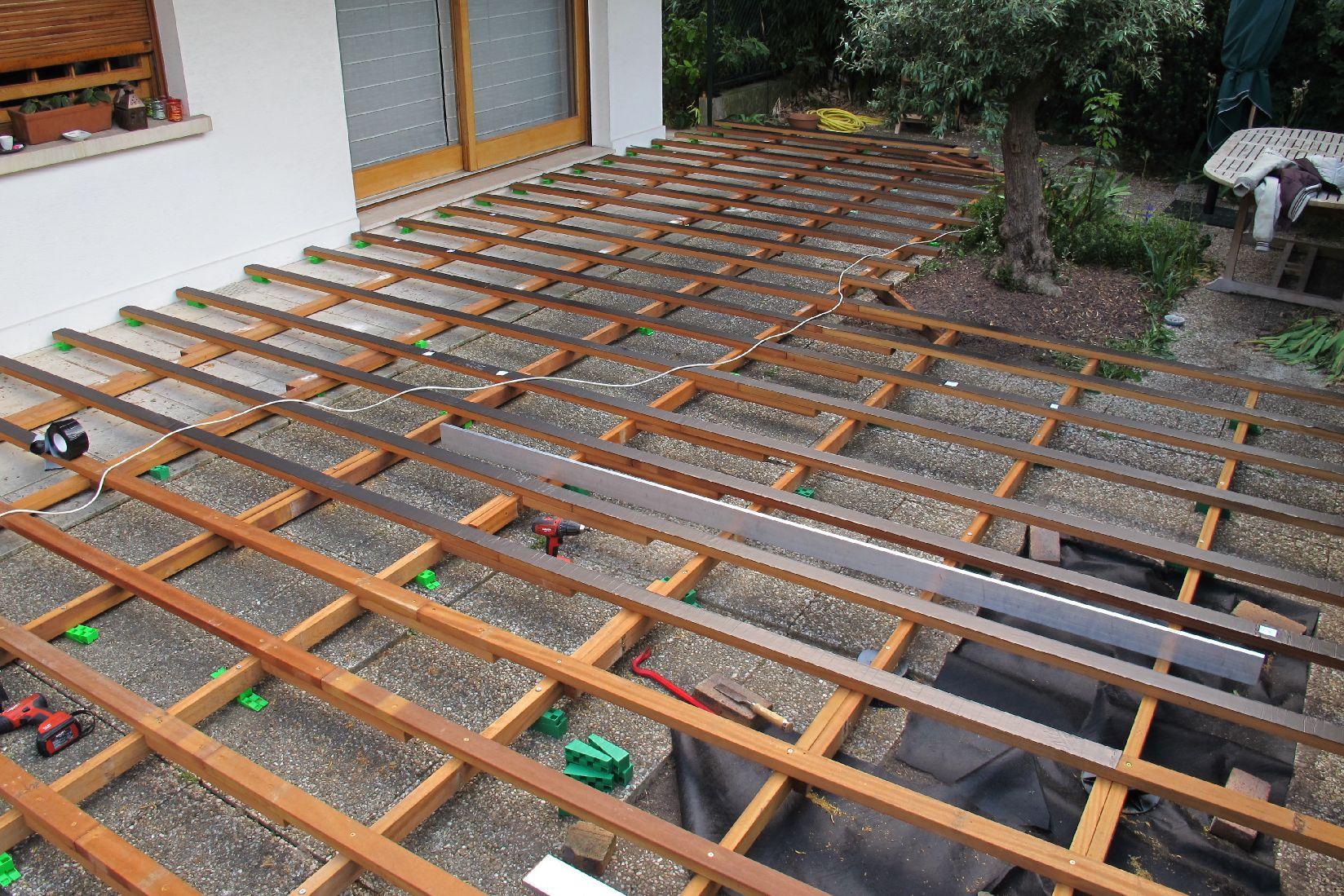 Formations atb - Cale plastique pour terrasse bois ...