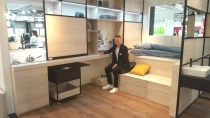 Commuters need multifunctional furniture in their microappartment