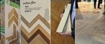 Domotex and BAU: Herringbone parquet comes out of the niche