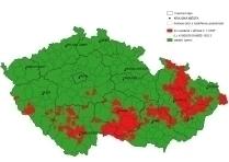 Borkenkäfer Gefährdung Tschechien