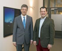 Johannes Schwörer und Philipp Freiherr zu Guttenberg