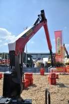 New crane technology at this year's Interforst
