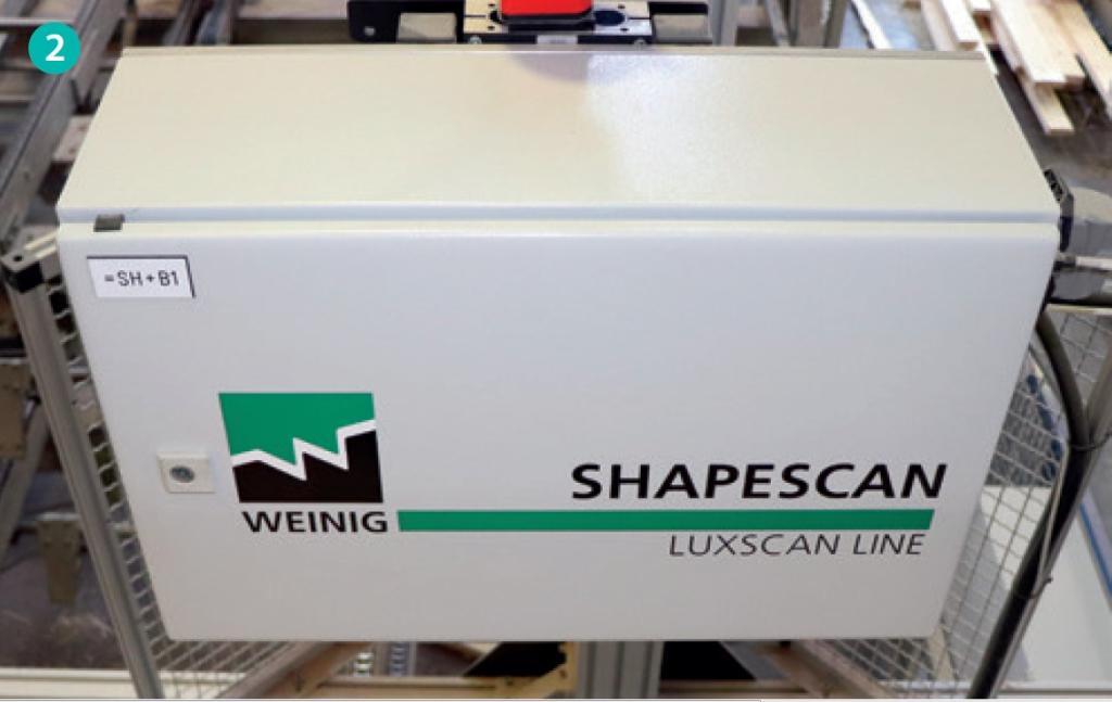 CombiScan ShapeScan Krümmumgsmessung