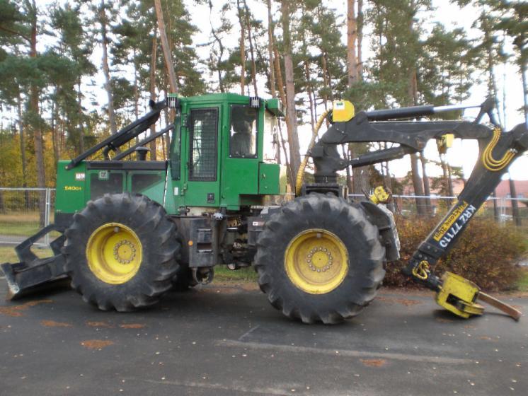 tracteur forestier occasion en allemagne
