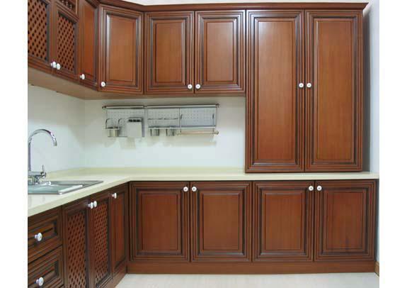 gabinetes de cocina de madera imagui