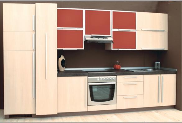 Vend ensemble de meubles de cuisine design autres mati res for Panneau meuble cuisine