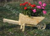 Buy Or Sell Wood Flower Pot - Planter - Flower pot
