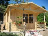 Wholesale  Holiday Cabin Spruce Picea Abies - Wooden Houses Spruce  from Romania
