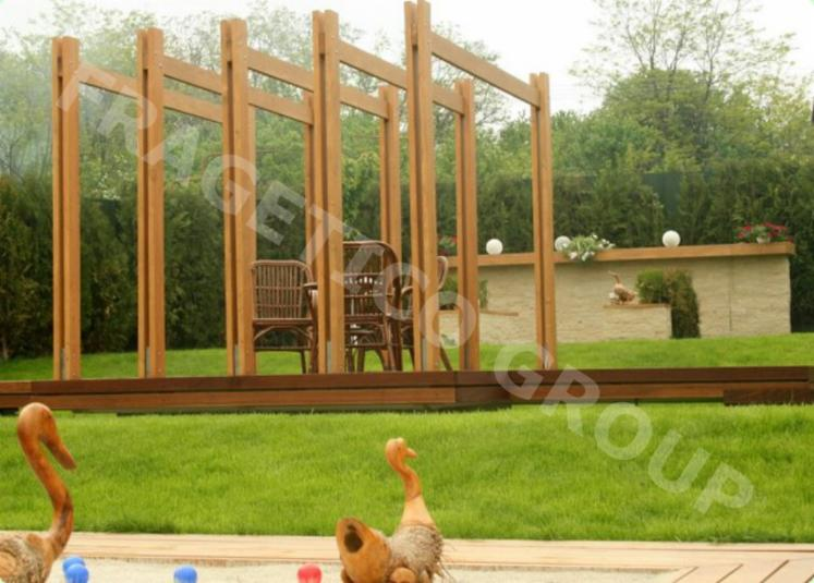 Spruce----Whitewood-Pergola---Arbour-from