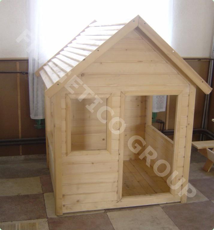 木头搭的小房子图片