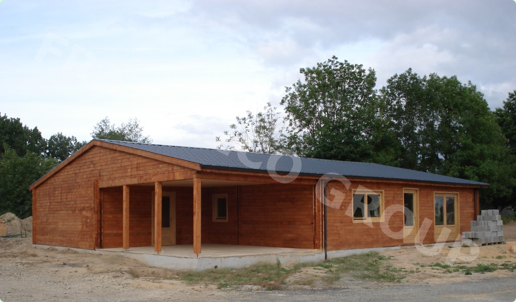 Maison 224 Ossature Bois Epic 233 A Picea Abies Bois Blancs