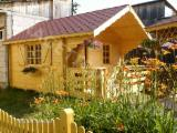 Buy Or Sell  Garden Log Cabin - Shed Spruce Picea Abies - Whitewood - Garden house FRG 404028 CE