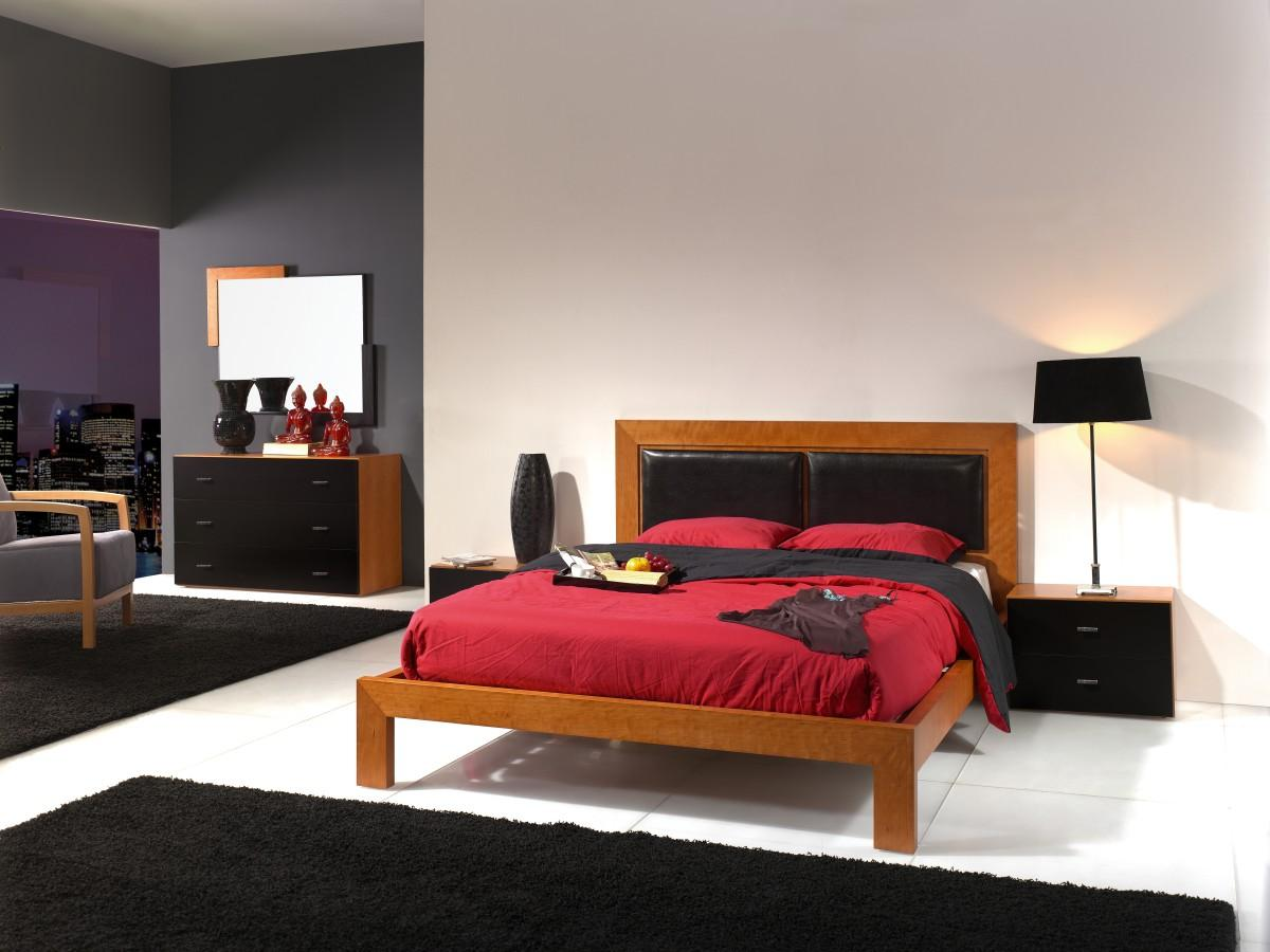 ensemble pour chambre coucher design 100 0 300 0 pi ces par mois. Black Bedroom Furniture Sets. Home Design Ideas