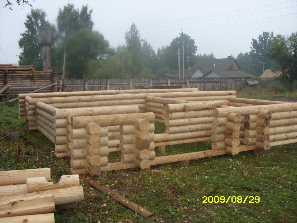 Casa di tronchi canadese pino nero dall 39 austria pinus for Case di tronchi di blocchi di legno