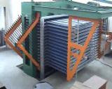 Woodworking Machinery China - New Automatically Fed Press for Veneering Flat Surfaces in China