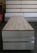 Platten und Furnier - 1 Schicht Massivholzplatten, Walnuß