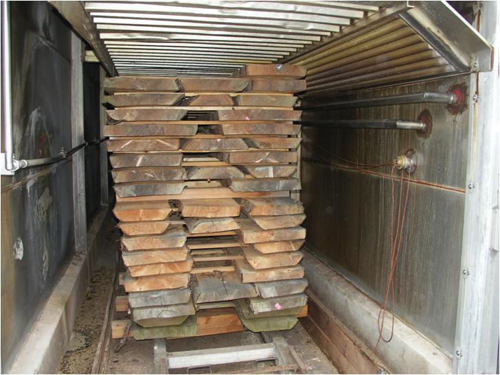 build wood drying kiln
