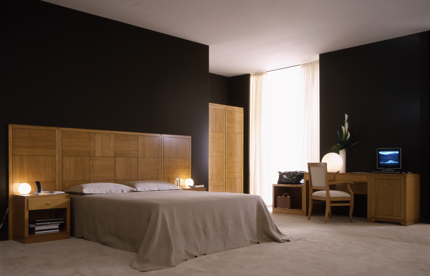Chambre d 39 h tel contemporain 5 0 100 0 pi ces for Hotel contemporain