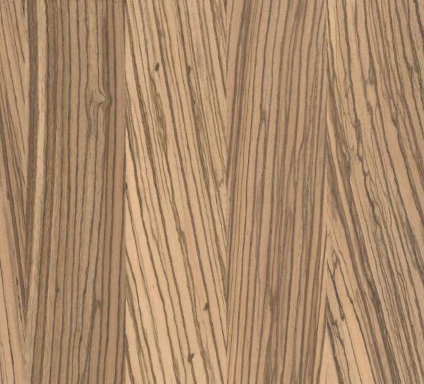 Solid wood panel, Zingana (Zebrano, Zebrawood, Allen ele)