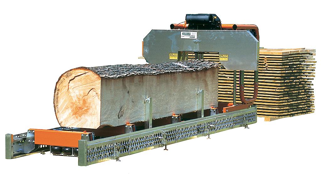 Saws, Mobile Log Bandsaw, Logosol - Norwood
