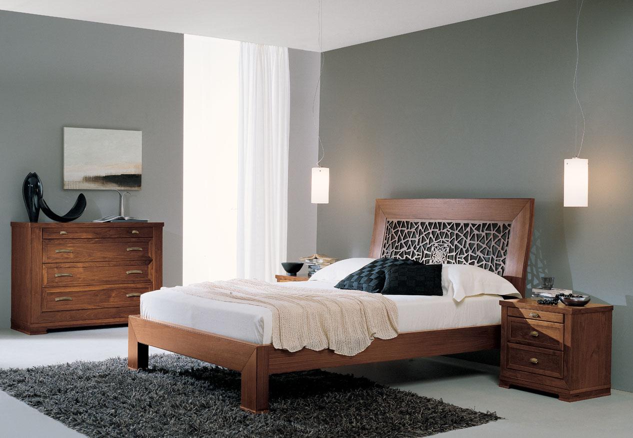 Chambre a coucher design chambre moderne noir et blanc la for Ensemble meuble chambre adulte
