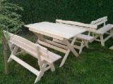 Pine  - Redwood Garden Furniture - Traditional Pine (Pinus Sylvestris) - Scots Pine Garden Sets Poland