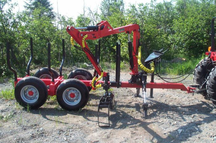 Skidding   Forwarding, Skidder trailer