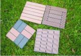 Exterior Decking  China - Wood composite decking tiles/garden tiles/ DIY tiles