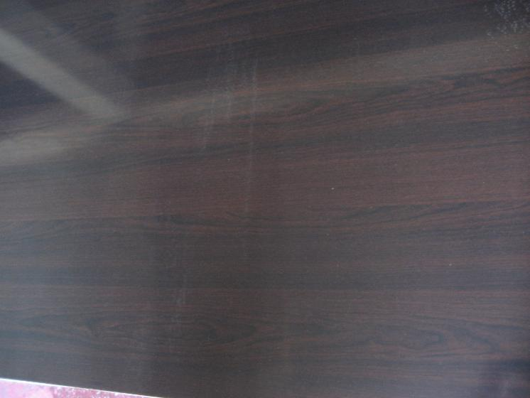 MDF with melamined paper