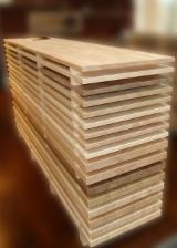 Solid Wood Panels - Boards glued beech white or steamed.