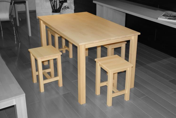 Beech-table-and