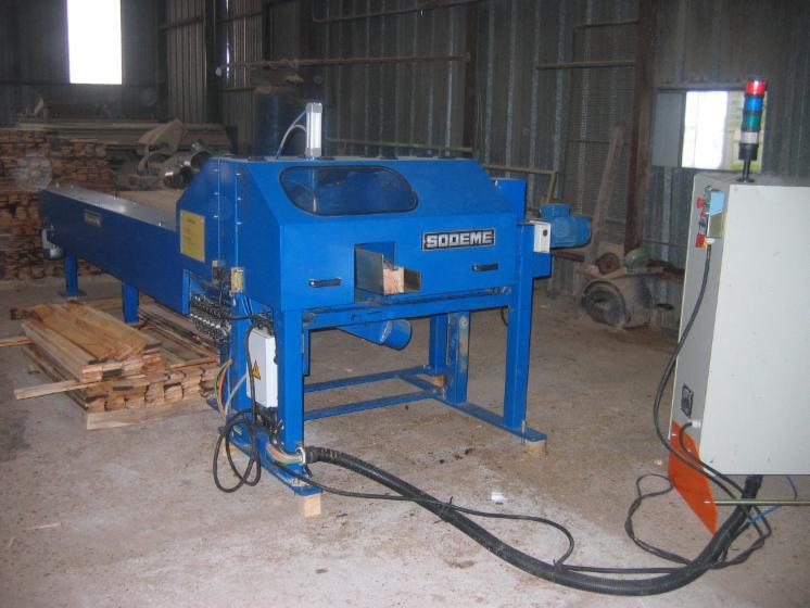 Vend machine couper les d s de palette sodem b1001v1 occasion france - Machine a couper le bois ...