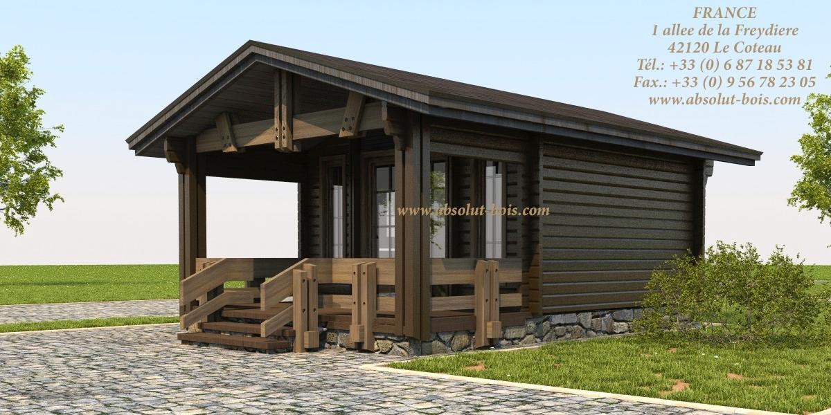 abri de jardin chalet en bois. Black Bedroom Furniture Sets. Home Design Ideas