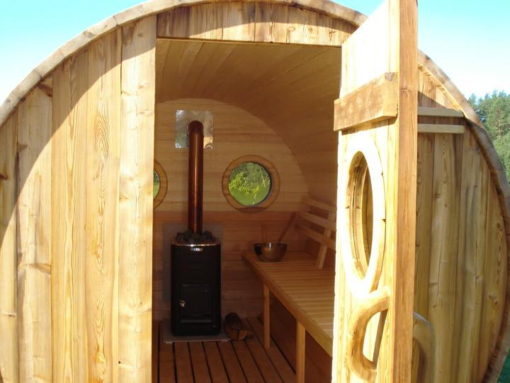 Pino silvestre pinus sylvestris madera roja sauna - Sauna da esterno ...