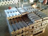 ISO-9000 Certified Firewood, Pellets And Residues - ISO-9000 Spruce  - Whitewood Wood Briquets 90 mm