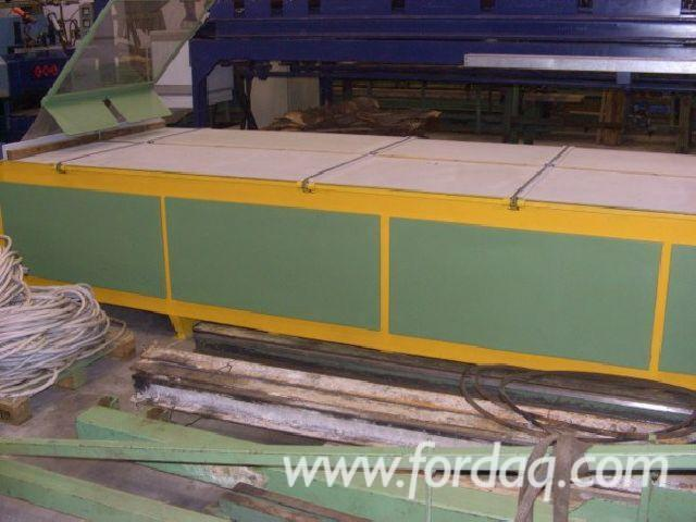 Used MODESTO Double Blade Edging Circular Saw For Sale Italy