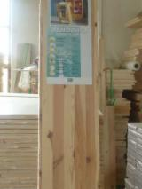 Pine  - Redwood Solid Wood Panels - FSC, Pine (Pinus sylvestris) - Redwood, 16; 18; 28; 32 mm, Continuous stave, Softwoods, Poland, Polska-pomorskie