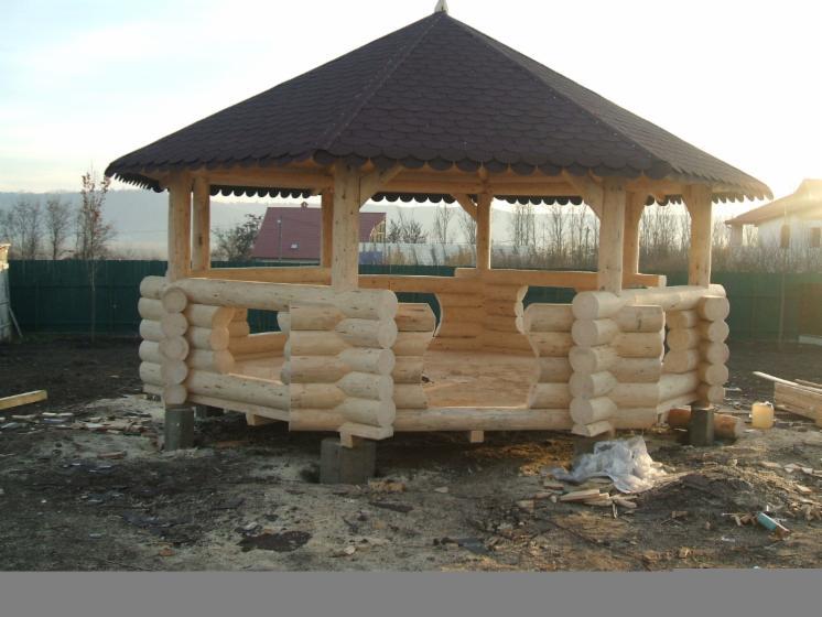 fuste maisons en rondins empil s epic a picea abies bois blancs. Black Bedroom Furniture Sets. Home Design Ideas