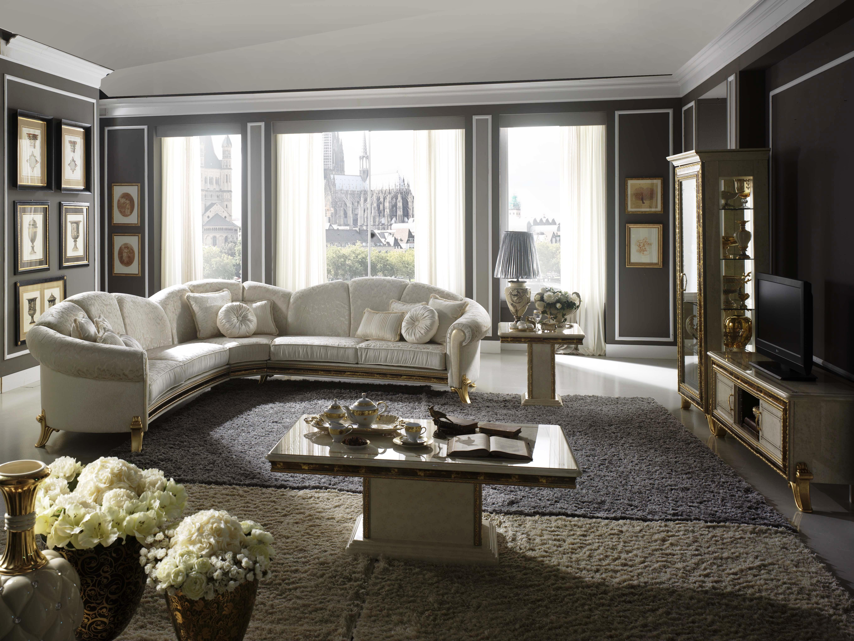 Salotto di design in stile classico raffaello for Salotto design
