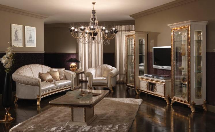 Salotto di design in stile classico RAFFAELLO