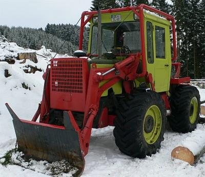 tracteur forestier mb trac occasion