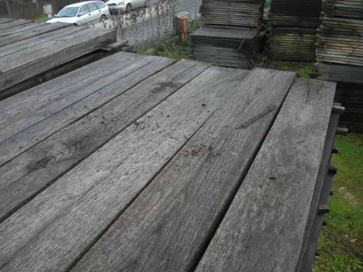 Tavole di castagno stagionate da ml 2 30 spessore mm 65 - Tavole da ponteggio usate ...