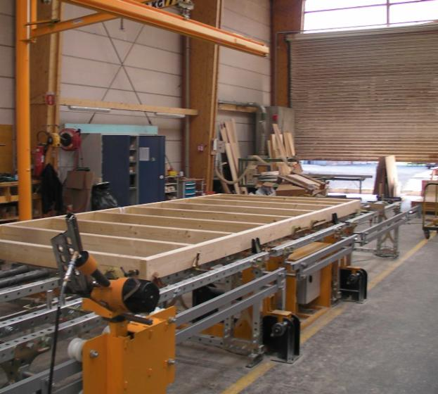 table de montage évolutives pour panneaux ossature bois -> Montage De Table Salon